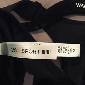 Victoria's Secret Intimates & Sleepwear - VICTORY SECRET SPORTS  ZIP UP BRA